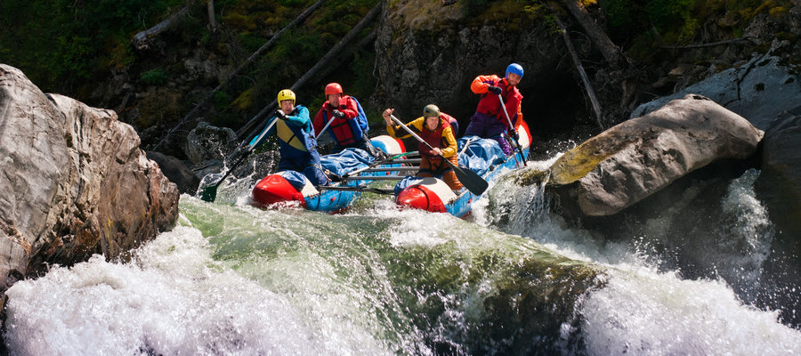 Shuttle for Salmon River Idaho Rafting