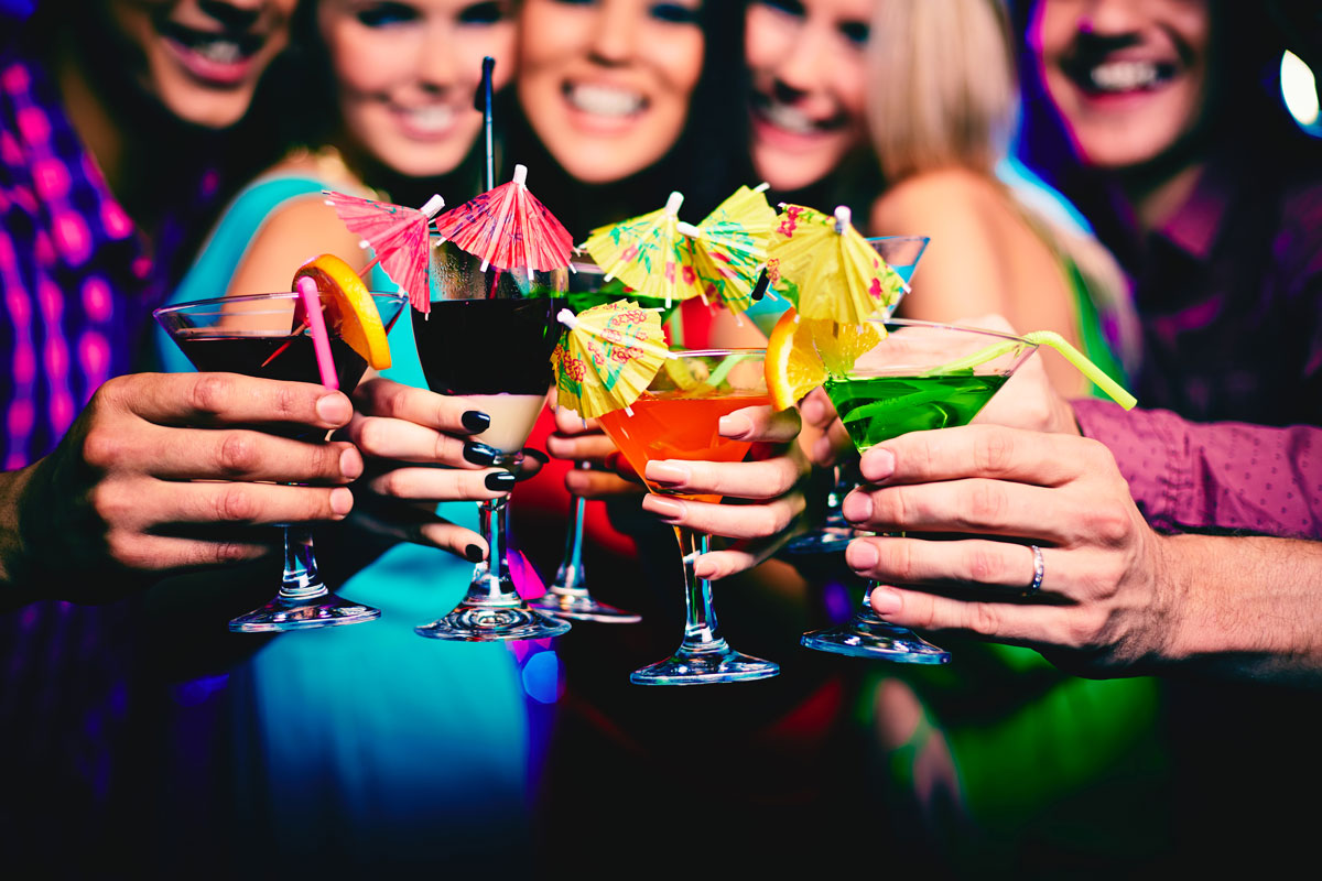 Girls night out and shuttle rental
