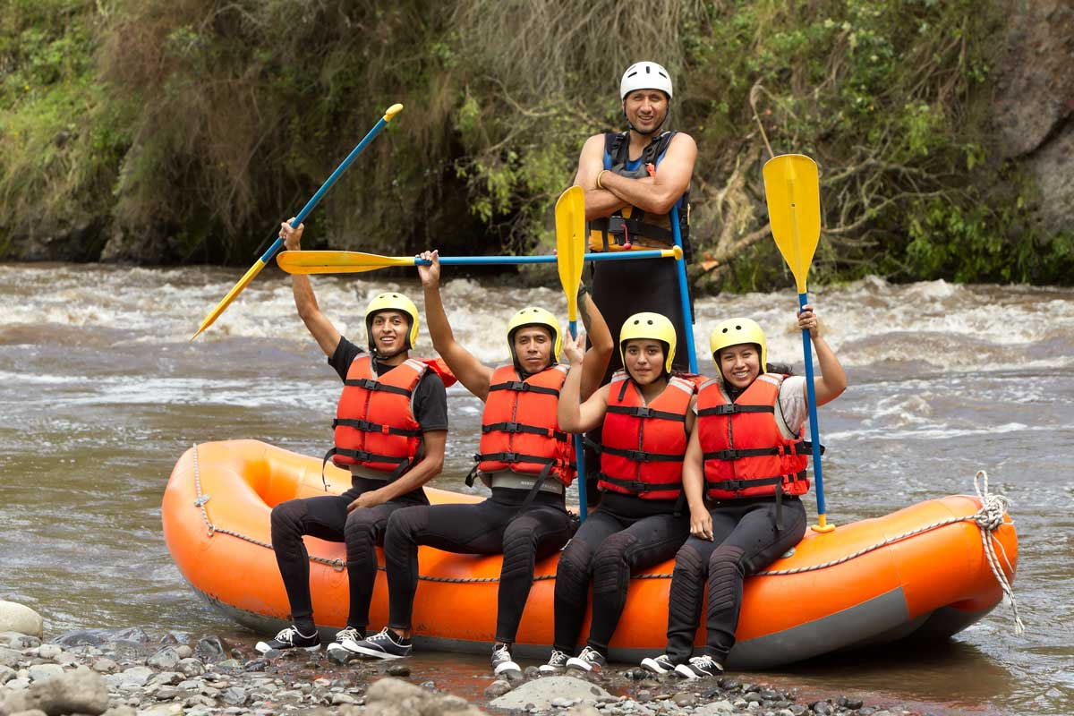 white water destination in Idaho to raft