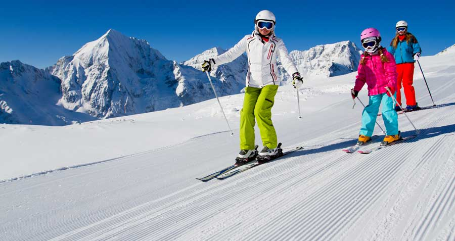 skiing at bogus basin