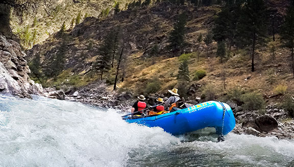 River Rafting in Stanley
