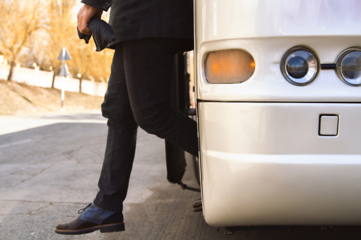 Charter a shuttle for employees