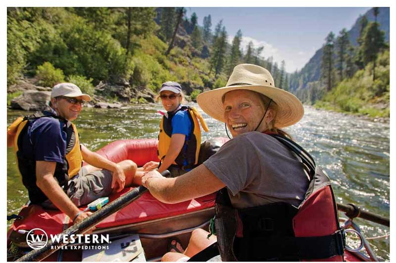 Western River Rafting on the Middle Fork