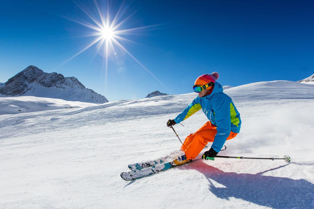 skiing in Sun Valley