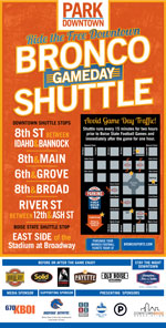 2017 BSU Football game Shuttle
