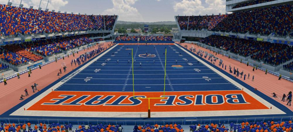 BSU Football field
