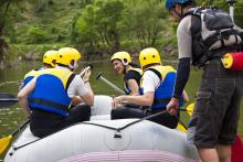 Whitewater Rafting in Idaho
