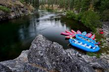 Salmon River Idaho Rafting