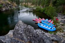Idaho River Rafting