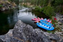 Middle Fork River Rafting