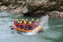 We love running the shuttle for River Rafting in Stanley