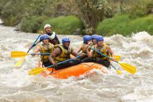 Rafting Salmon River Idaho