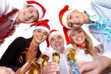 Charter a Bus for Your Christmas Party